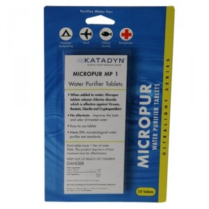 Micropur MP1 Purification Tablets (Package of 30)